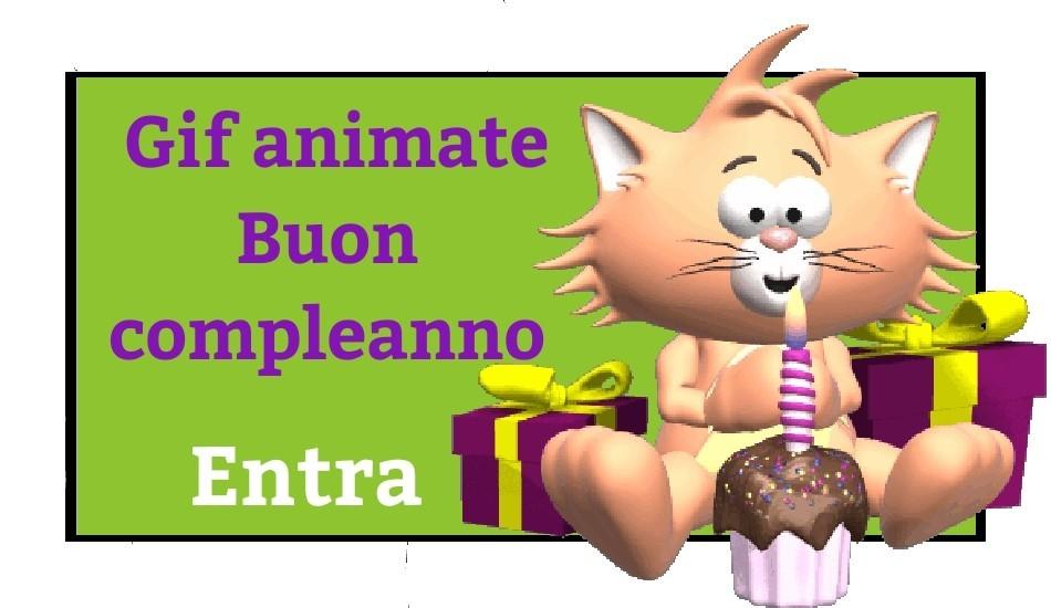 Gif Animate Buon Compleanno Le Piu Belle Qui