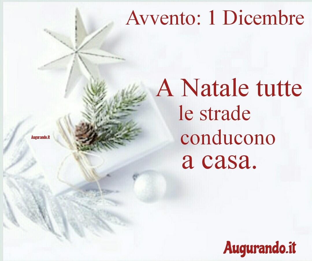 Giorno calendario Avvento 1 Dicembre