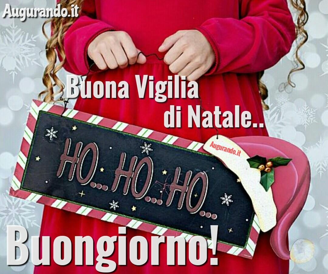 Buongiorno Vigilia di Natale