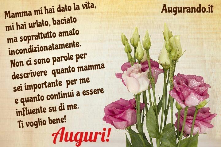 Auguri Di Buon Compleanno Mamma Lettera.Auguri Di Compleanno Alla Propria Mamma