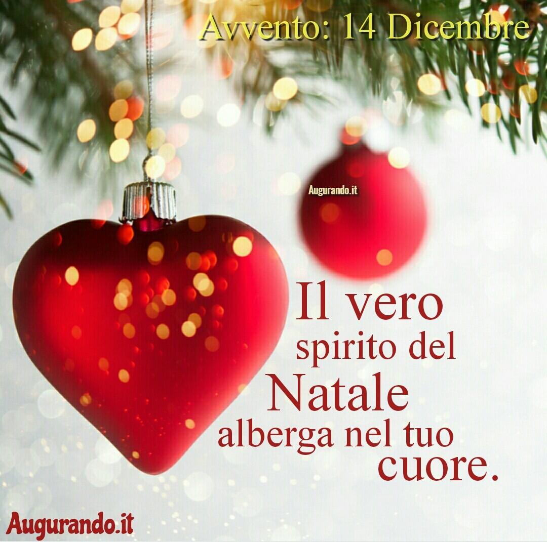 Giorno calendario Avvento 14 Dicembre