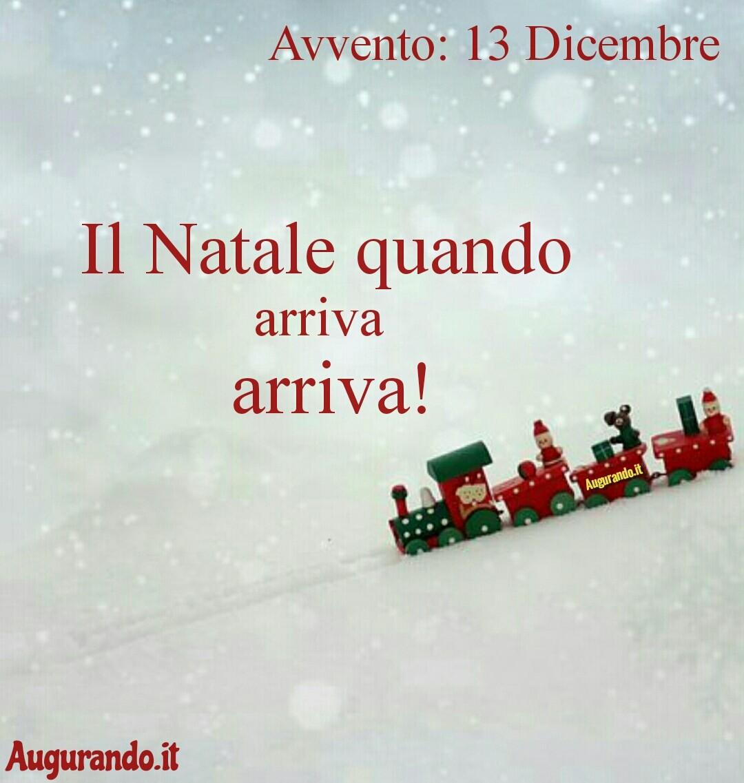 Giorno calendario Avvento 13 Dicembre