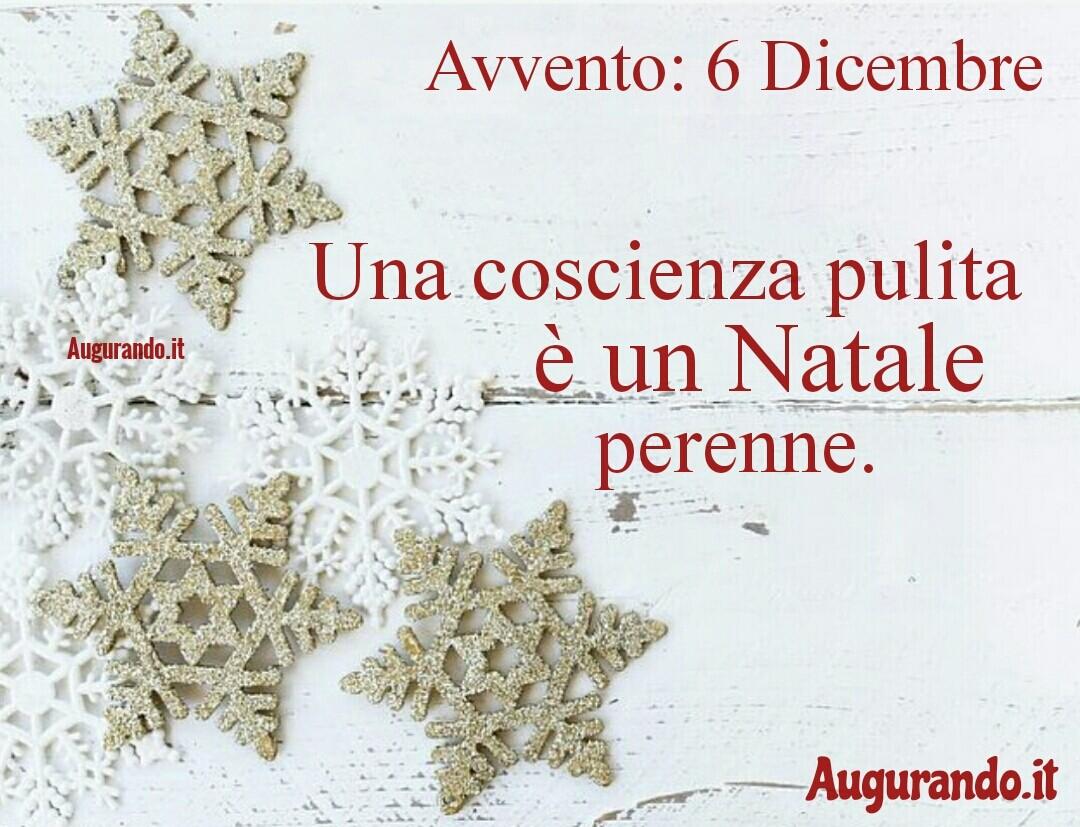 Giorno calendario Avvento 6 Dicembre