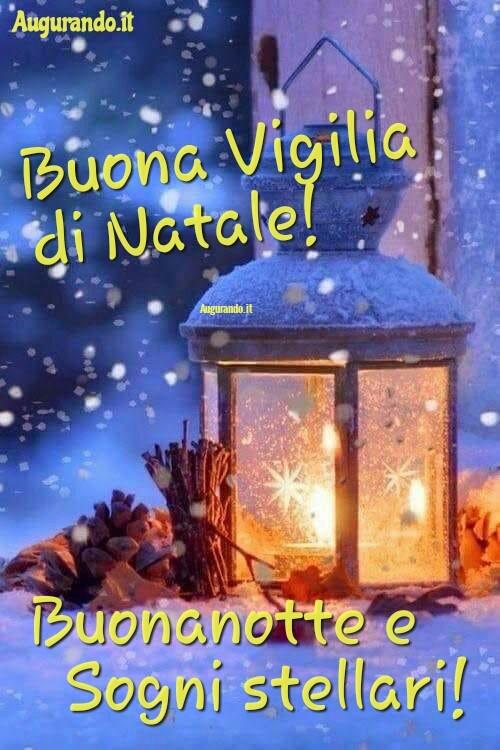 Buonanotte Buona Vigilia di Natale