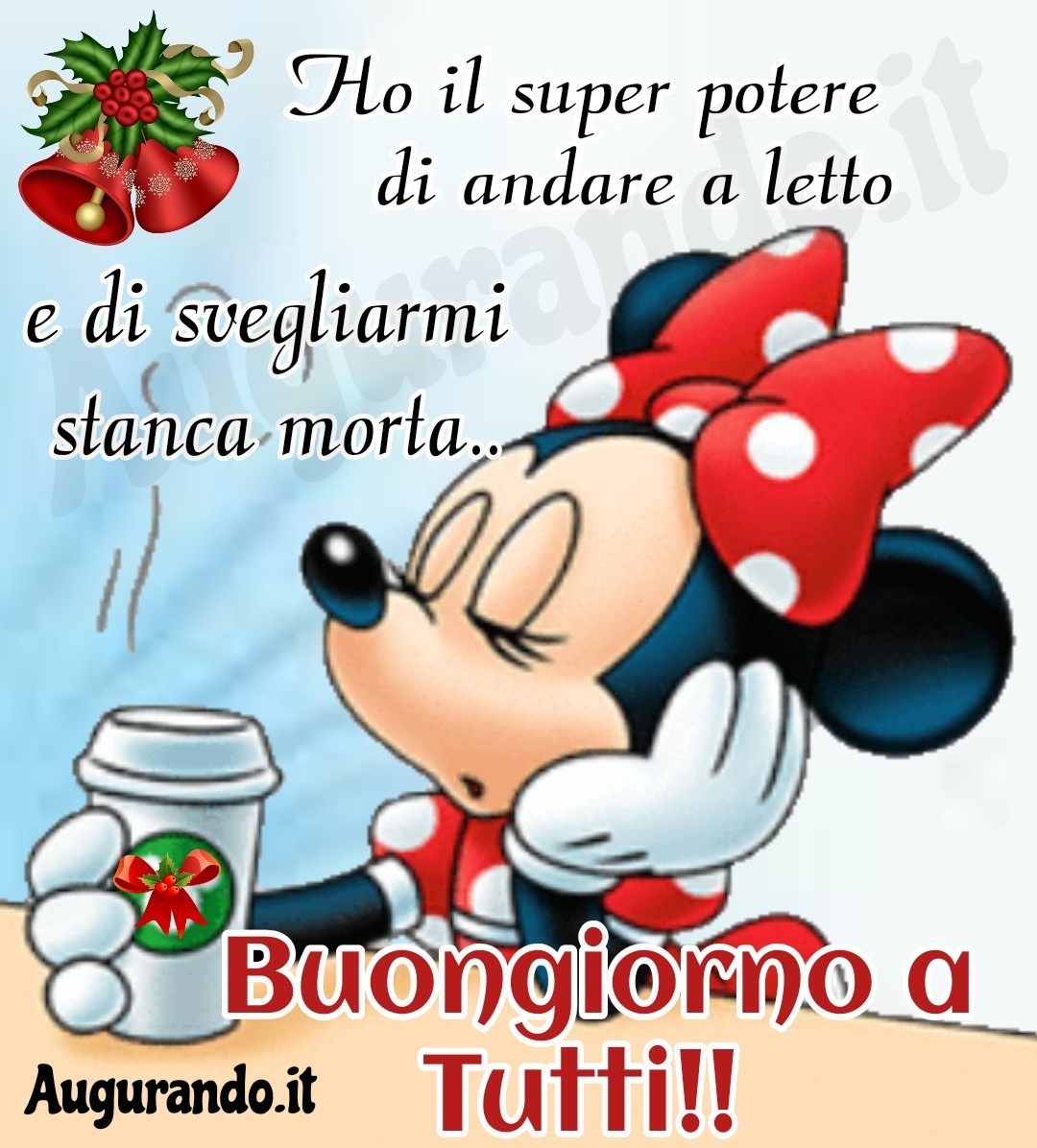 Buongiorno natalizio